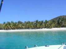 Plage à Mayreau Iles Grenadines
