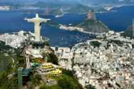 La baie de Rio et le Christ redempteur