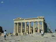 Le Parthenon à Athenes