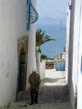 rue à Sidi Bou Said
