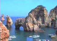 Ponta da Pietad Algarve Portugal
