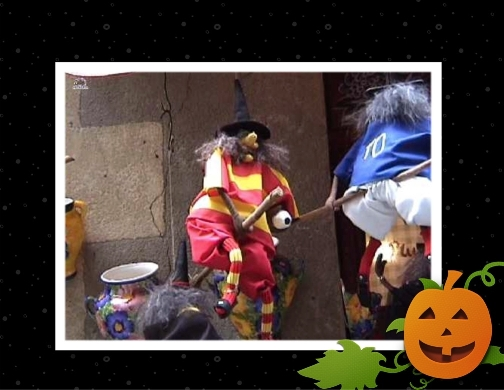 carte sorci�re halloween