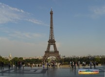 la tour Eiffel � Paris